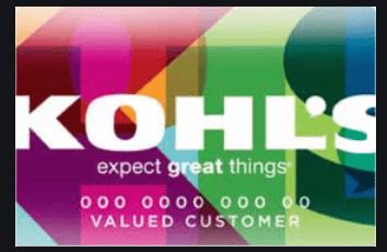 Create Kohl's Credit Card Account