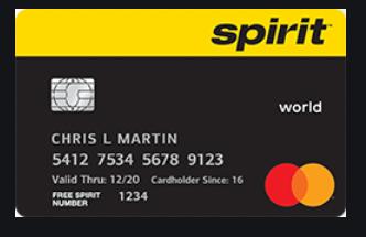 Spirit Credit Card