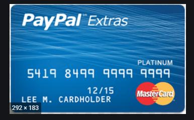 PayPal MasterCard Sign